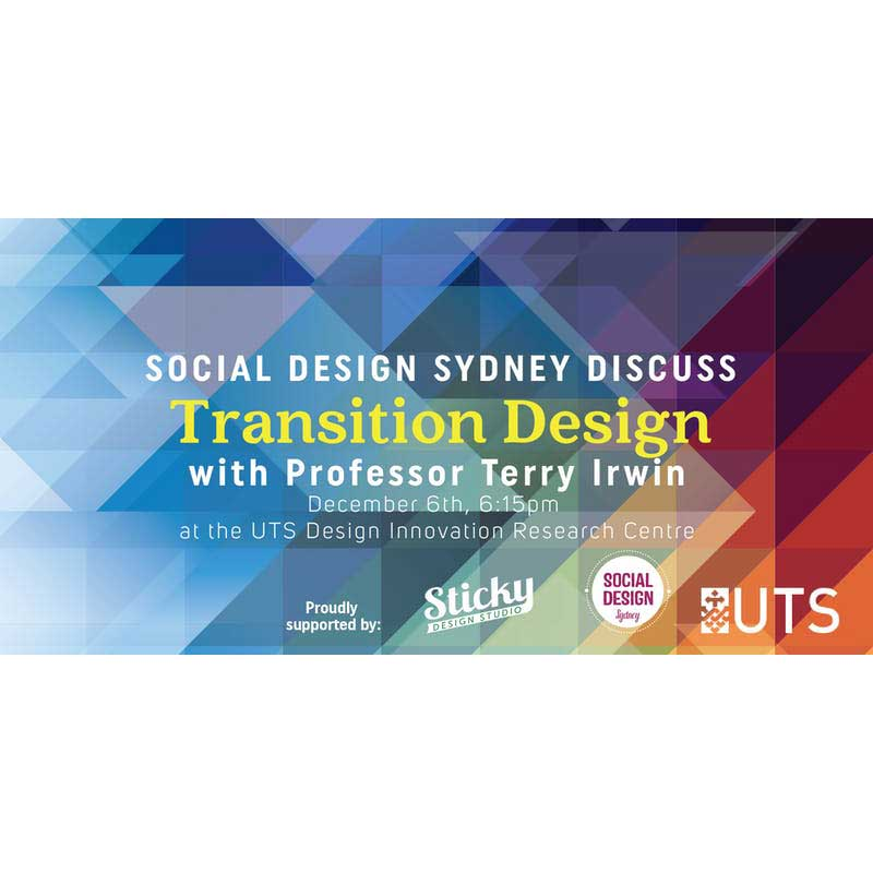 Transition Design Social Design Sydney