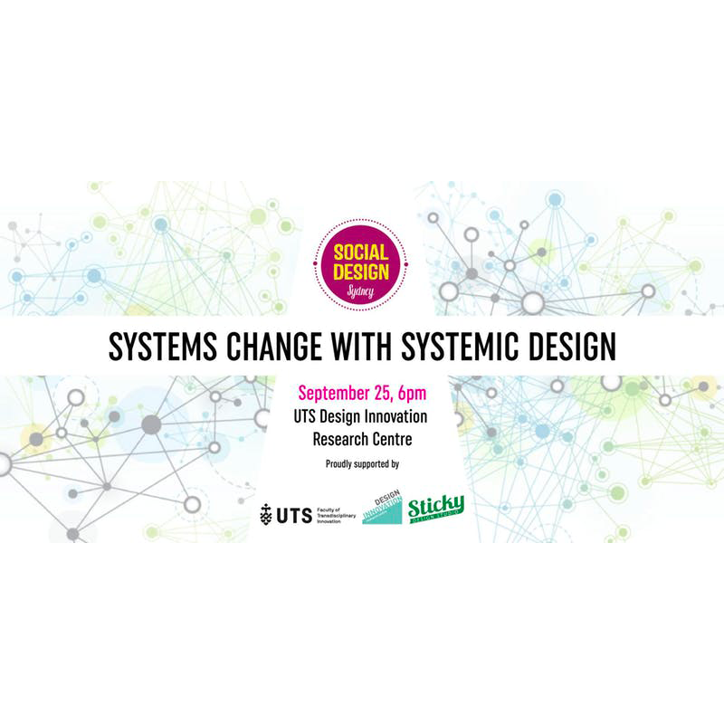 Systems Change w Systemic Design