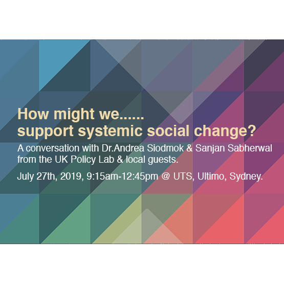 How might we support systemic social change?