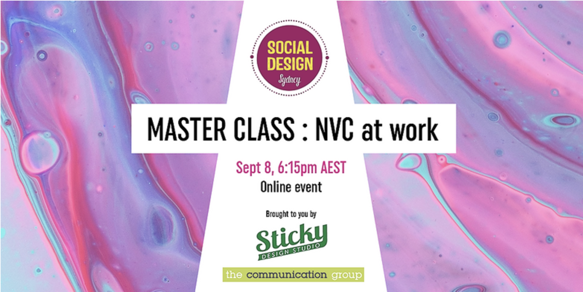 NVC at work flyer