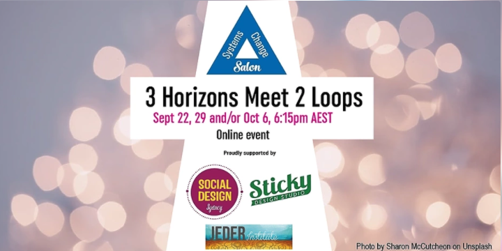 flyer : 3 horizons meets 2 loops