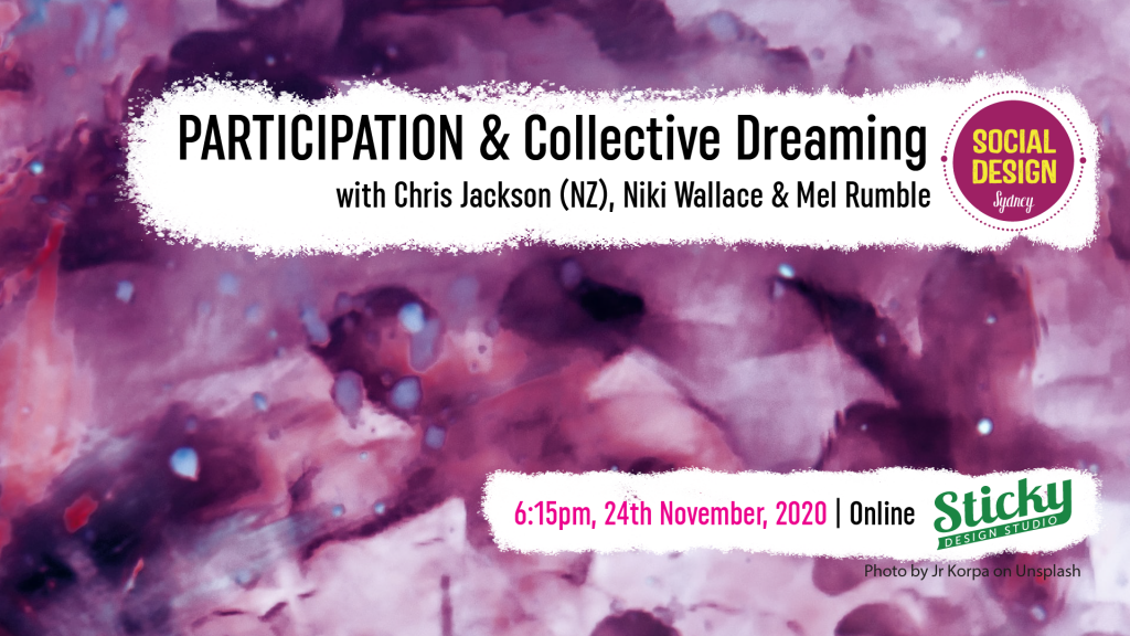Participation & Collective Dreaming flyer