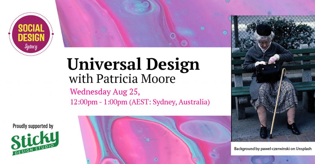 Universal Design with Patricia Moore