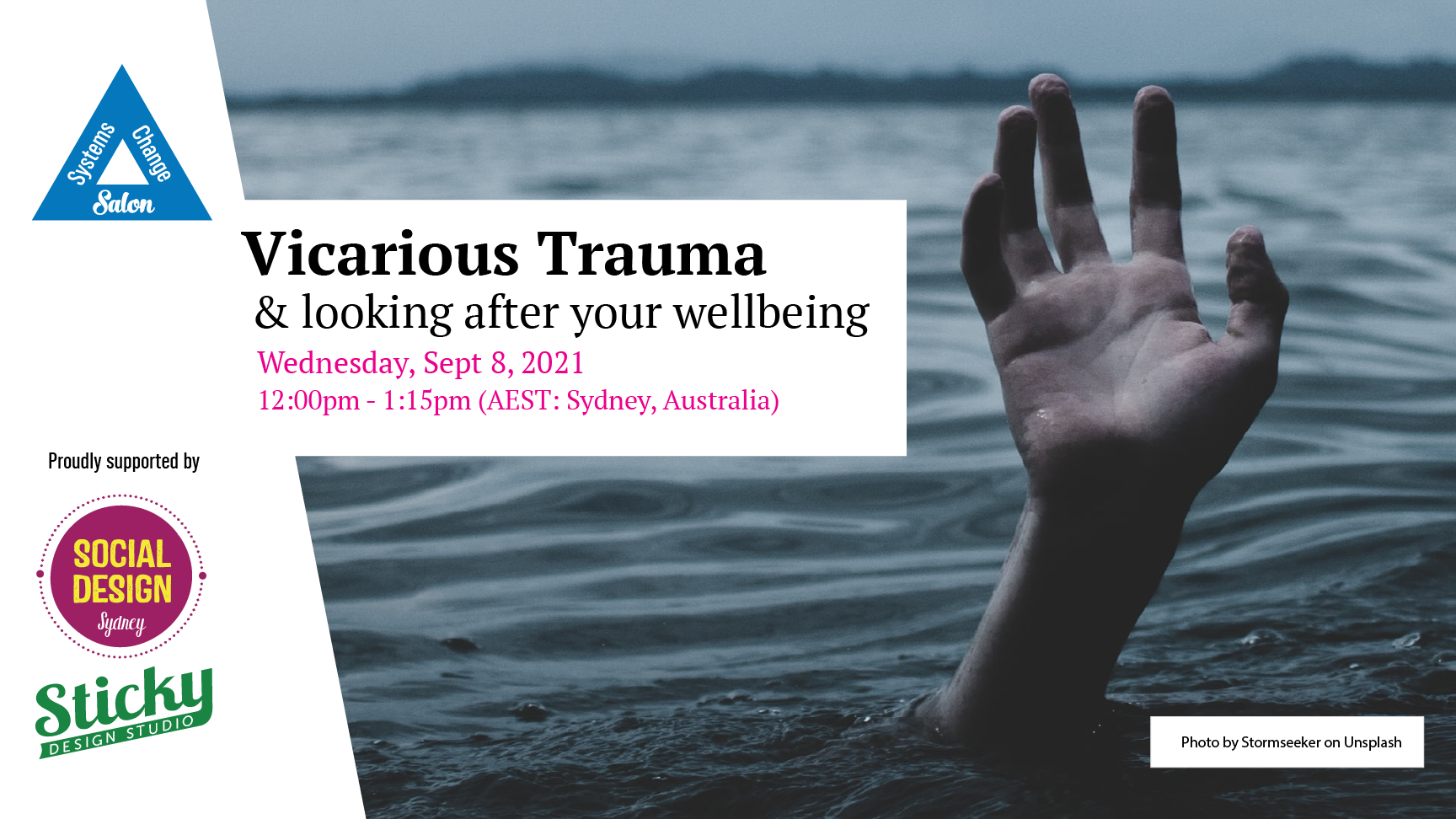 Vicarious Trauma : Looking after your wellbeing